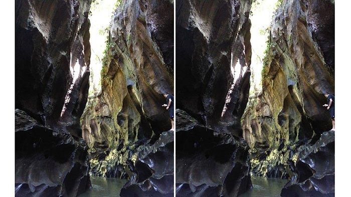 Menelusuri Lekuk-Lekuk nan Indah di Lembah Hidden Canyon, Bali