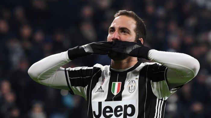 Gonzalo Higuain Putus Kontrak dengan Juventus