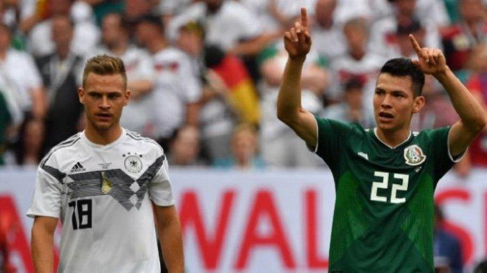 Jerman Jadi Tim Eropa Pertama yang Kalah di Piala Dunia 2018, Ditaklukkan Meksiko 1-0