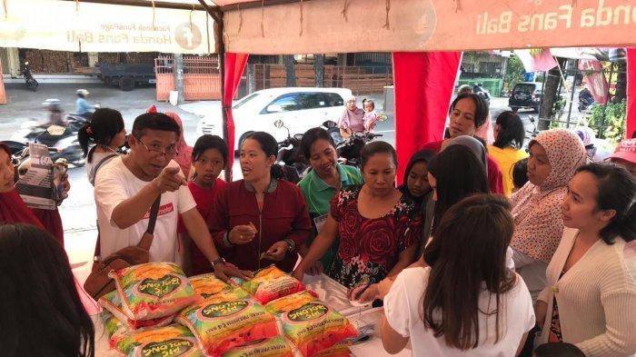 Honda Asia Motor Gelar Bazar Sembako Murah Ramadan