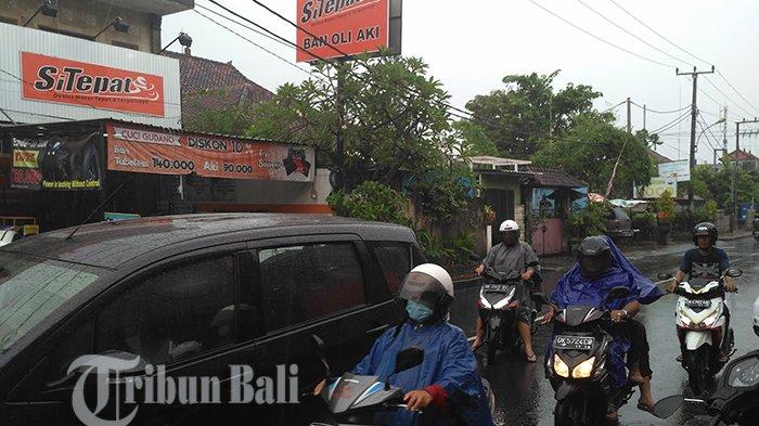 Seputaran Kota Denpasar Hujan, BMKG Perkirakan Akan Terjadi Hingga Menjelang Waktu Ini