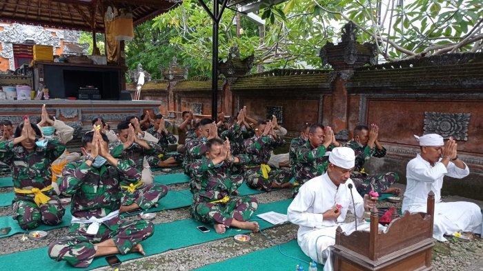 HUT TNI Ke-76, Korem 163/Wira Satya Menggelar Doa Bersama di Denpasar, Ini Kata Kapenrem