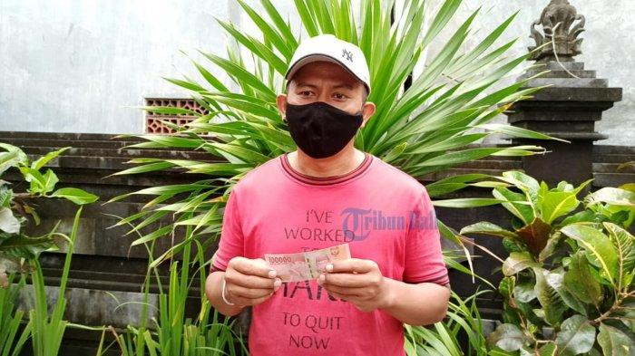 Dapat BST PPKM Rp 300 Ribu, Pria Asal Badung Ini Akan Gunakan BST Untuk Membeli Beras