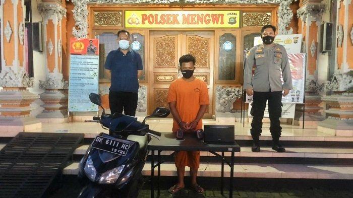 Pencuri Spesialis Villa di Badung Diamankan Jajaran Polsek Mengwi
