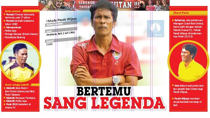 Tak Lama Lagi, Asisten Arema Cronus Ini Bergabung Bersama Bali United