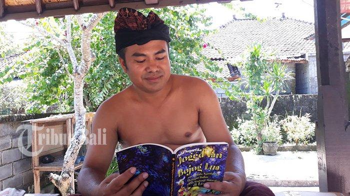 Perbekel 'Gila' Mesatua Bali, Rayakan Bulan Bahasa Bali dengan Buat Video Mesatua Setiap Hari