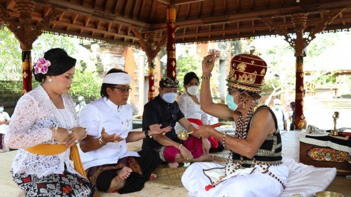 Serangkaian Pelantikan Bupati dan Wakil Bupati Badung Periode Kedua Ikuti Upacara Mejaya-Jaya
