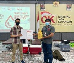 Donor Darah Konvalesen di OJK Bali