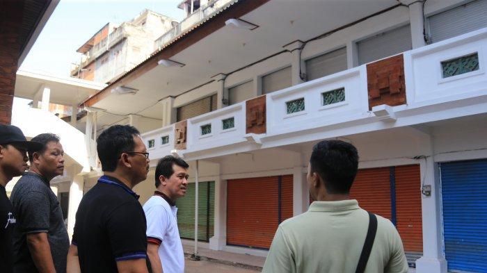 Eskalator & Pemasangan AC Segera Diuji Coba, Suwirta Tinjau Revitalisasi Blok A & F Pasar Semarapura