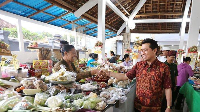 Menghidupkan Kembali Pusat Ekonomi Kerajaan di Bali, Desa Adat Gelgel Hidupkan Pasar Zaman Kerajaan