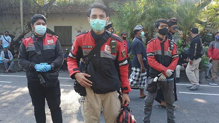 Bantuan Medis saat Demo Tolak Omnimbus Law Dirasa Minim, Relawan IEA Wilayah Bali Siagakan Personel