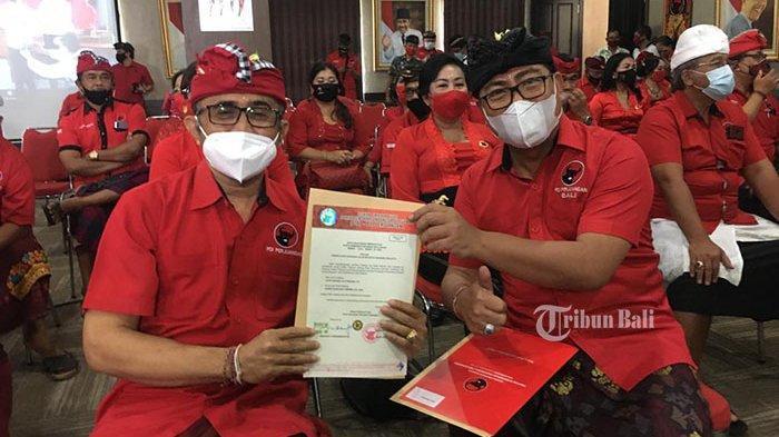 Paslon Wali Kota dan Wakil Wali Kota Denpasar Jaya-Wibawa akan Daftar ke KPU, Ini Persiapannya