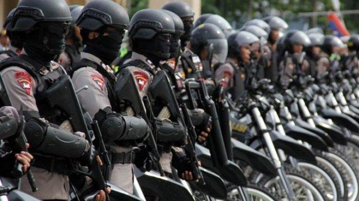 Ada Pengerahan Ribuan Brimob ke Jakarta Antisipasi People Power, Ini Pesan Dari Bravo 5