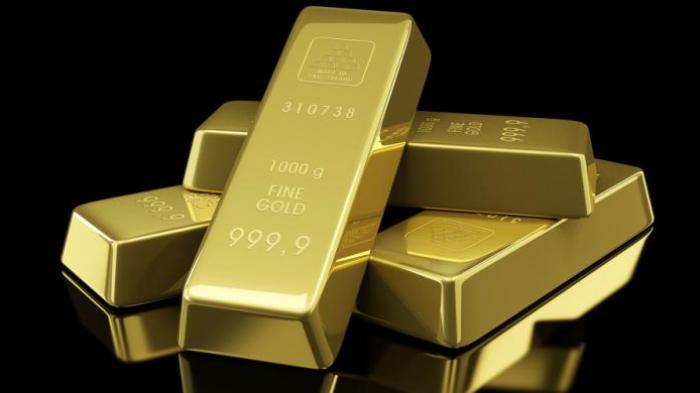 Harga Emas Turun Rp 13.800 per Gram