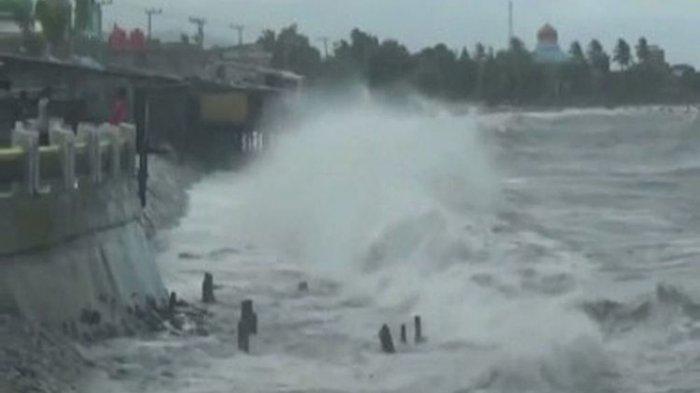 Peringatan Dini Cuaca Ekstrem 13 Agustus 2020 di Indonesia: Bali Waspadai Gelombang Tinggi
