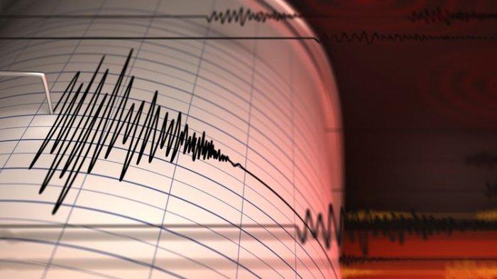Ilustrasi gempa di Bengkulu