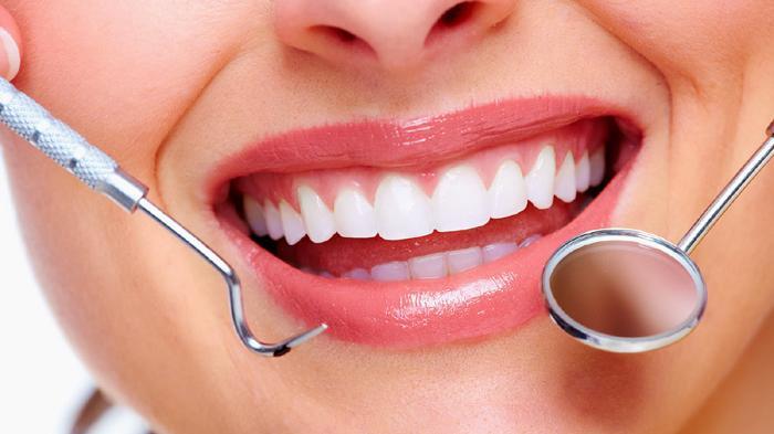 Ilustrasi Gigi Putih Bersih