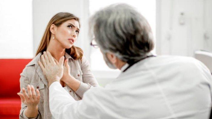 Benjolan Besar di Leher Karena Penyakit Gondok, Ini Cara Pengobatannya