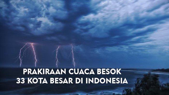 Prakiraan Cuaca Kota Besar di Indonesia, Senin 22 Februari 2021: Denpasar Hujan, Jakarta dan Bandung