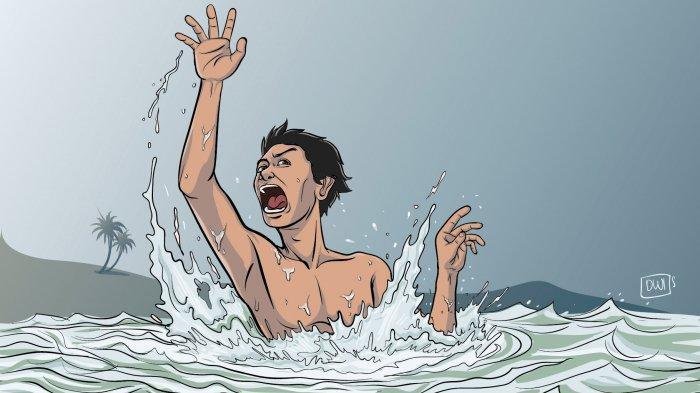BREAKING NEWS: 2 Pemuda Tenggelam di Sungai Yeh Mekecit Jembrana, Hingga Kini Masih Pencarian