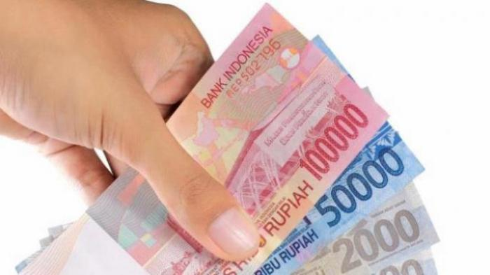 Ilustrasi pecahan uang kertas
