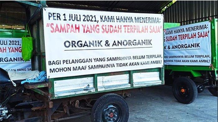 Mulai 1 Juli 2021, Desa Sumerta Kaja Denpasar Wajibkan Masyarakat Memilah Sampah dari Rumah