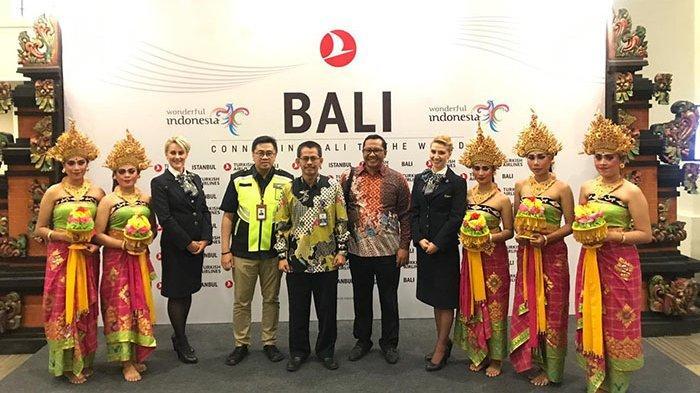 Dukung Pertumbuhan Wisman, Dirjen Hubud Sambut Positif Turkish Airlines Terbangi Rute Istanbul-Bali