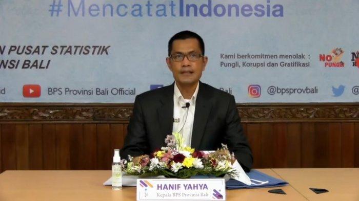 Ekonomi Bali Triwulan I-2021 Tercatat Tumbuh Negatif Sedalam -9,85 Persen