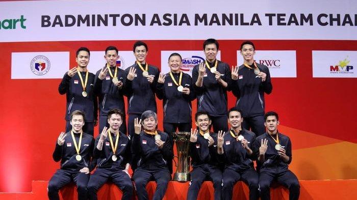 Hasil Undian Piala Thomas 2020: Indonesia Ada di Grup A, Gabung dengan Taiwan, Aljazair, & Thailand