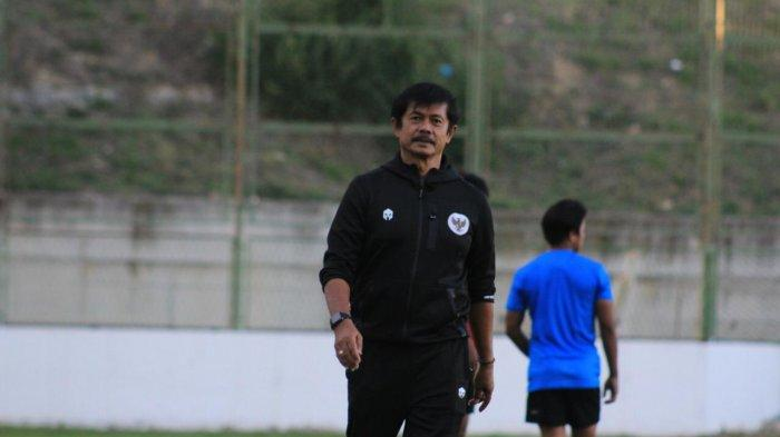 Dirtek PSSI Indra Sjafri saat mendampingi TC Timnas Indonesia U-19 di Kroasia.