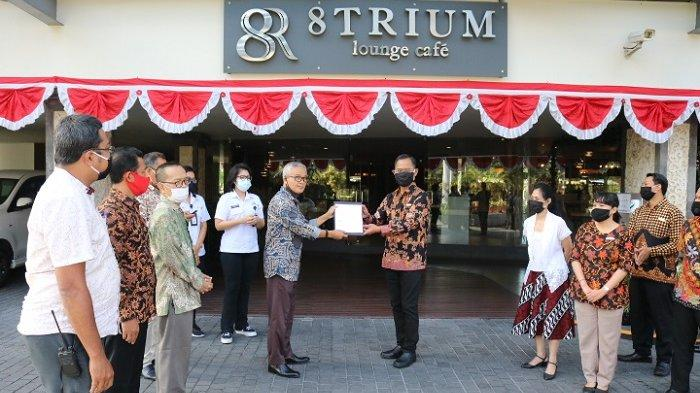 INFINITY8 BALI Berhasil Terverifikasi Tatanan Kehidupan Era Baru oleh Dinas Pariwisata Bali