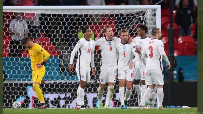 Final Kepagian Babak 16 Besar Euro 2020 Inggris vs Jerman, Ini Head To Head Kedua Tim