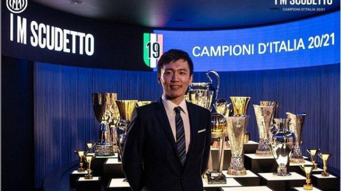 Ini Sosok Steven Zhang, Presiden I Nerazzuri Non Italia Pertama Bawa Inter Raih Scudetto Liga Italia