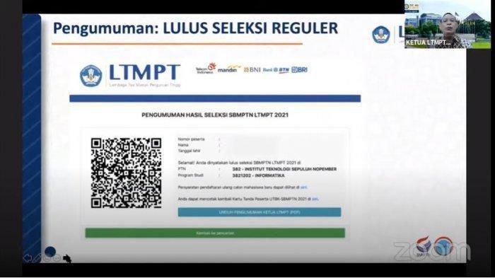 LTMPT Umumkan Hasil SBMPTN 2021, Calon Mahasiswa Cek pengumuman-sbmptn.ltmpt.ac.id & di 29 Link Lain
