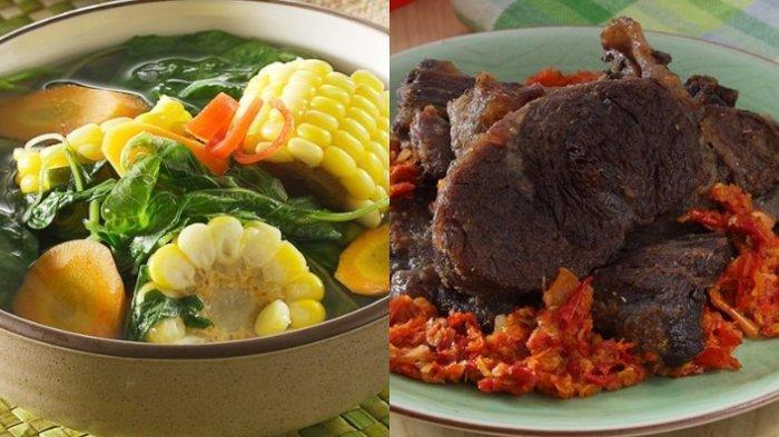 Bingung Masak Apa untuk Menu Sahur Nanti? Coba Resep Sayur Bening Bayam & Daging Sambal Kemiri