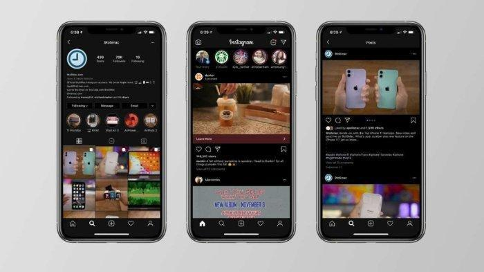 Sudah Coba Fitur 'Dark Mode' di Instagram? Ini 4 Caranya, Bisa untuk Android dan iOS