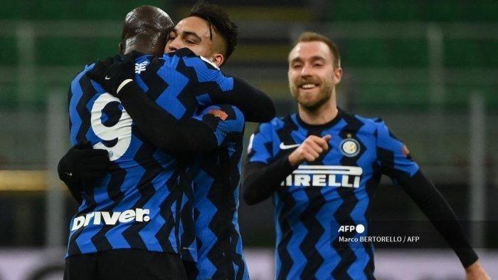 Hasil Liga Italia, AC Milan vs Inter Milan 0-3, Lukaku Lebih Tajam dari Ibra, Inter Unggul 4 Poin