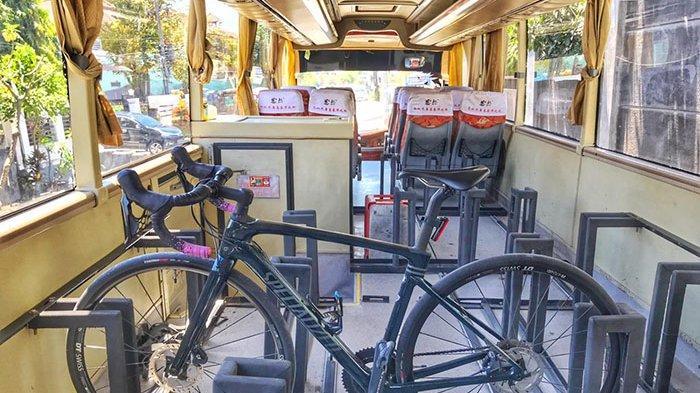 Interiornya Dimodifikasi, GoWes Bus Siap Antar-Jemput Dalam Mengangkut Sepeda Maupun Pengendaranya