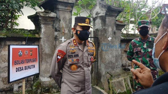 Pantau Pelaksanaan Isolasi di Bangli, Kapolda Bali: Polanya Sudah Tepat