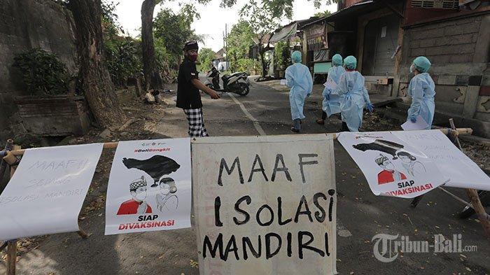 Melonjak Tinggi, Kasus Positif Covid-19 di Denpasar per Hari Ini Tembus 100 Orang