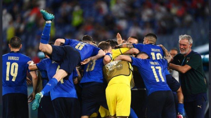 Hasil Laga Grup A Euro 2020 Italia vs Swiss, Italia Cukur Swiss Tiga Gol Tanpa Balas