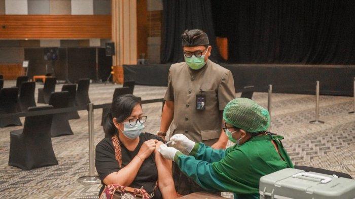 ITDC Selesaikan Vaksinasi Dosis Kedua Bagi Pelaku Parekraf The Nusa Dua Bali