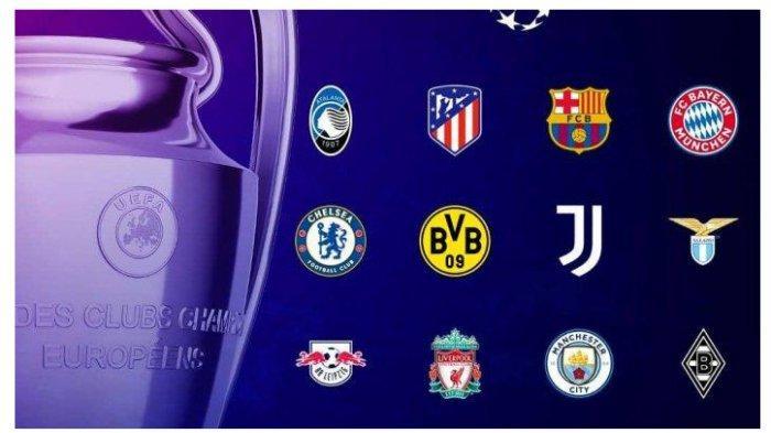 Jadwal Bola Malam Ini, Liga Champions Pertemukan Real Madrid VS Atalanta, Live SCTV