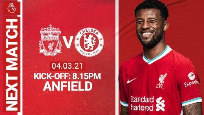 Live Mola TV Liverpool vs Chelsea, Berikut Prakiraan Susunan Pemain, Tuchel Punya Senjata Pamungkas