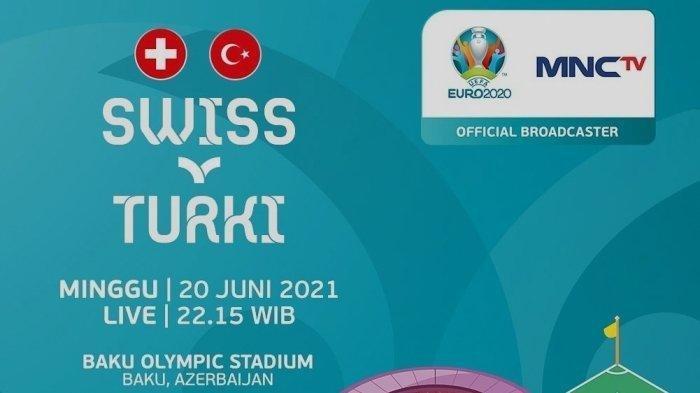 Prediksi Line Up Swiss Vs Turki Euro 2020, Lengkap dengan Link Live Streaming, Berlangsung Malam Ini