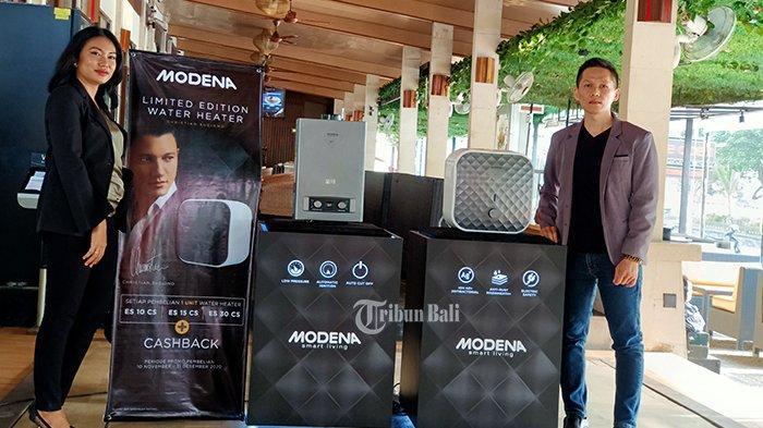 Kolaborasi Bersama Christian Sugiono, Modena Luncurkan Water Heater Edisi Terbatas