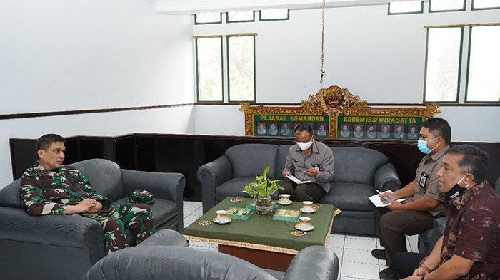 KPU Bali Berkomunikasi dengan Korem 163/Wirasatya, Harap Pelibatan Babinsa saat Sosialisasi Pilkada