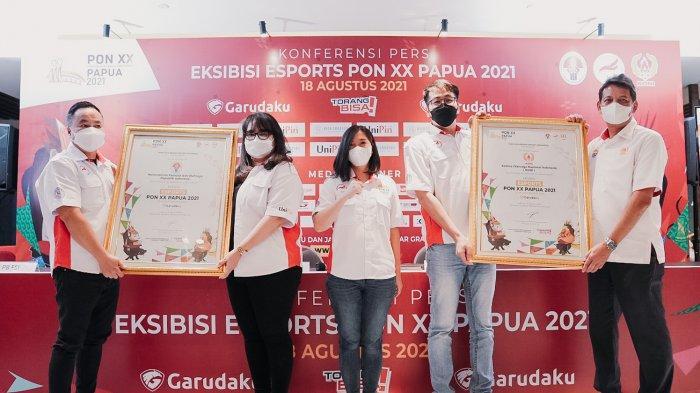 Esports Resmi Jadi Cabor Eksibisi di PON XX Papua, Pertandingkan Tiga Cabang Gim
