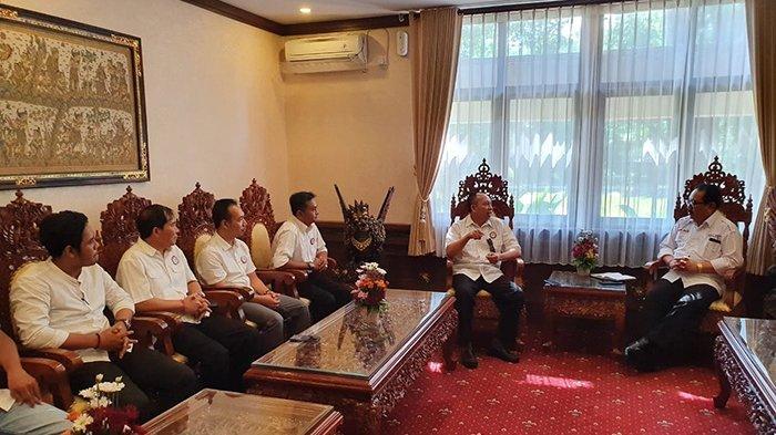 Pasca Pelantikan, Pengurus Pengprov ESI Bali Simakrama dengan Wagub Bali