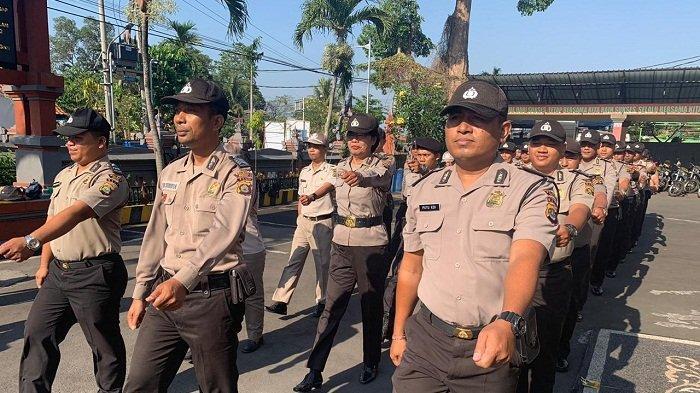 Refleksikan Gerakan dalam Peraturan Dasar Kepolisian, Kabagren Latih Personel Lakukan PBB